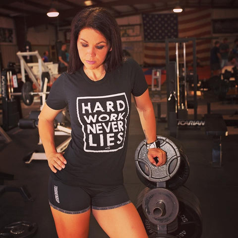Hard Work Never Lies Unisex Tee