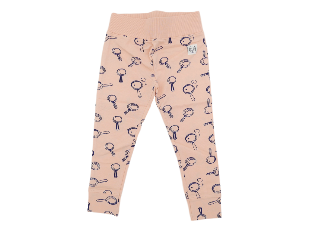 "Indikiduals - Legging rose à motif ""loupes"""