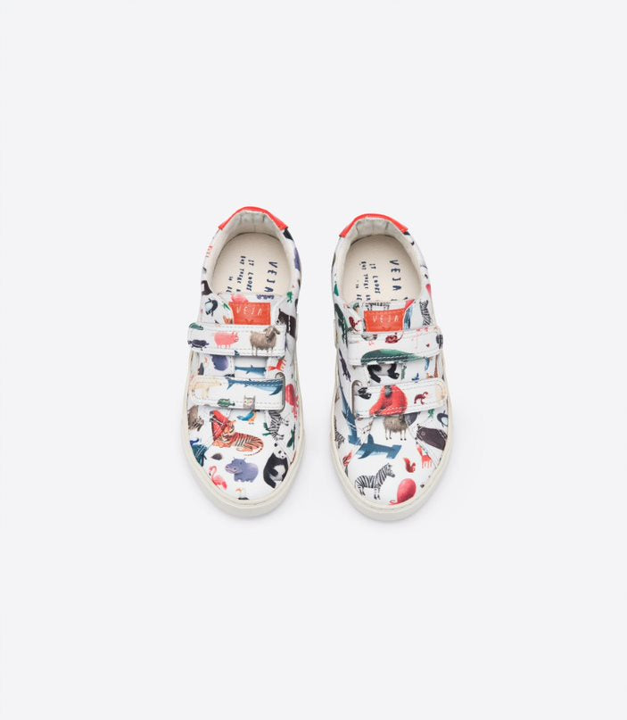 Veja - Baskets blanches Esplar X Oliver Jeffers