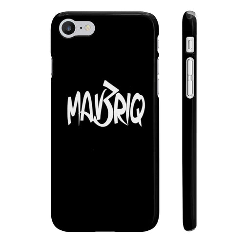 Black MAV3RIQ Phone Case