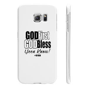 White God First God Bless Phone Case
