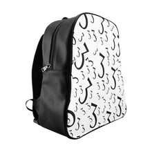 "Load image into Gallery viewer, ""3"" Pattern Backpack"