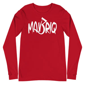 MAV3RIQ Long Sleeve Tee (White Print)