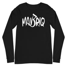 Load image into Gallery viewer, MAV3RIQ Long Sleeve Tee (White Print)
