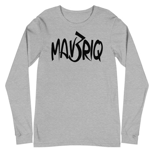 MAV3RIQ Long Sleeve Tee(Black print)