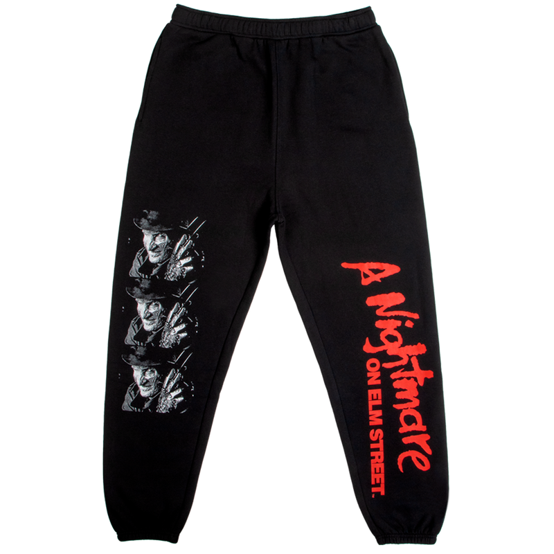 A Nightmare on Elm Street Freddy Black Sweatpants