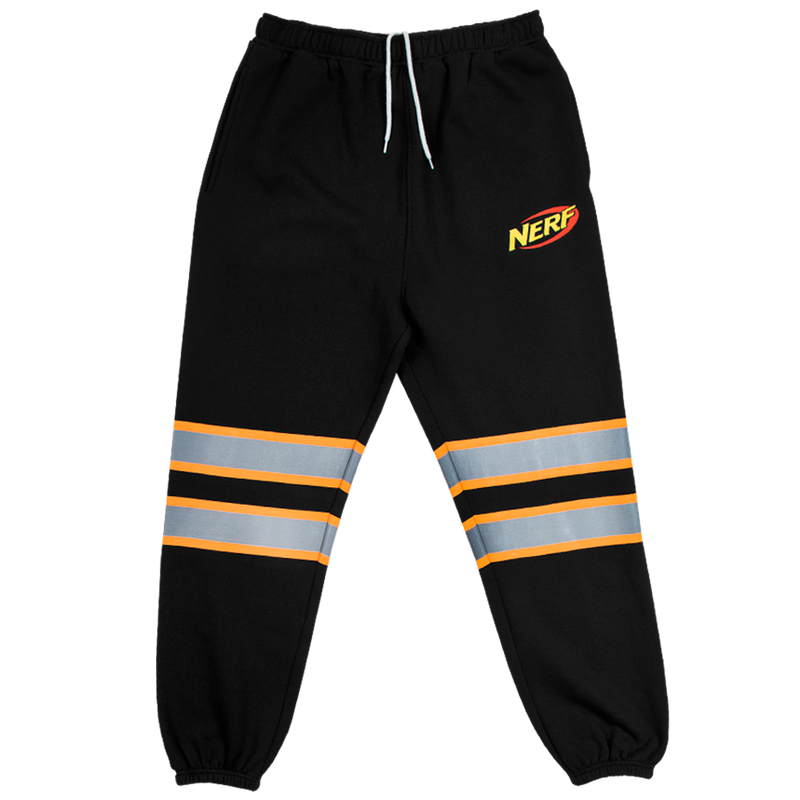 Nerf Reflective Black Midweight Sweatpants