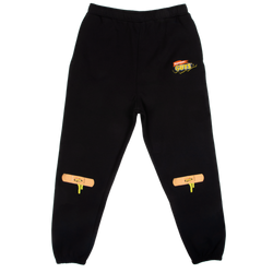GUTS Slime Bandaid Black Sweatpants