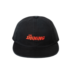 The Shining Black Strapback Hat