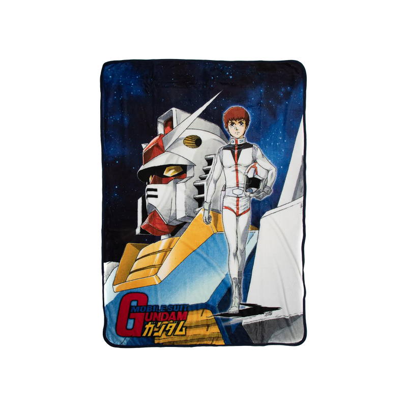 Gundam Poster Fleece Blanket