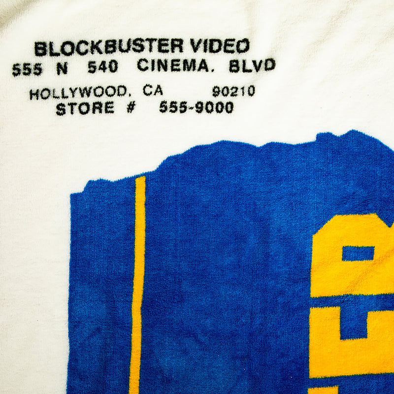 Blockbuster Fleece Throw Blanket