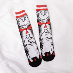 Dr. Seuss Cat in the Hat Socks