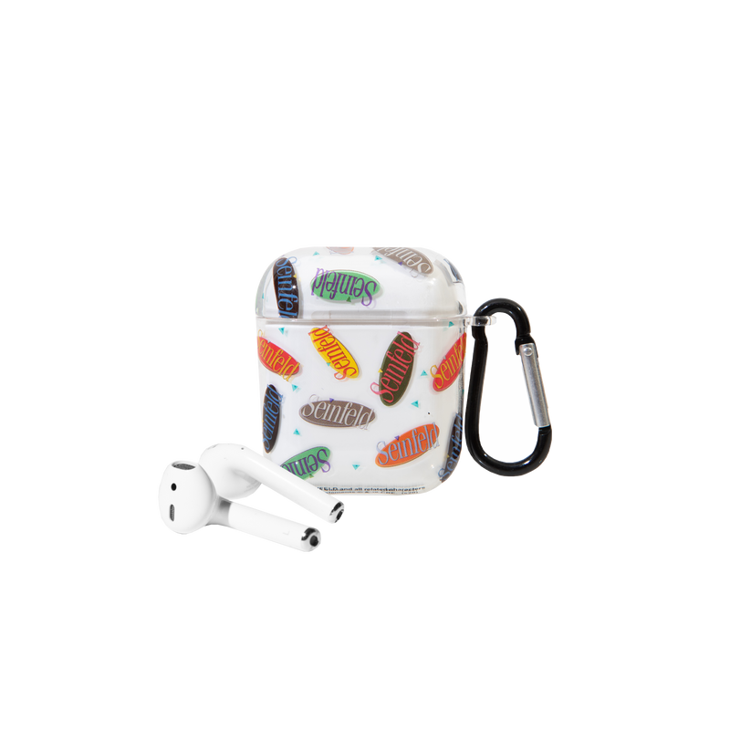 Seinfeld Repeat Logo AirPods Case