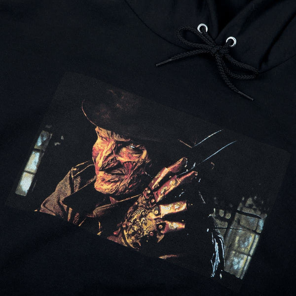 Nightmare On Elm Street Freddy Champion Hoodie Black