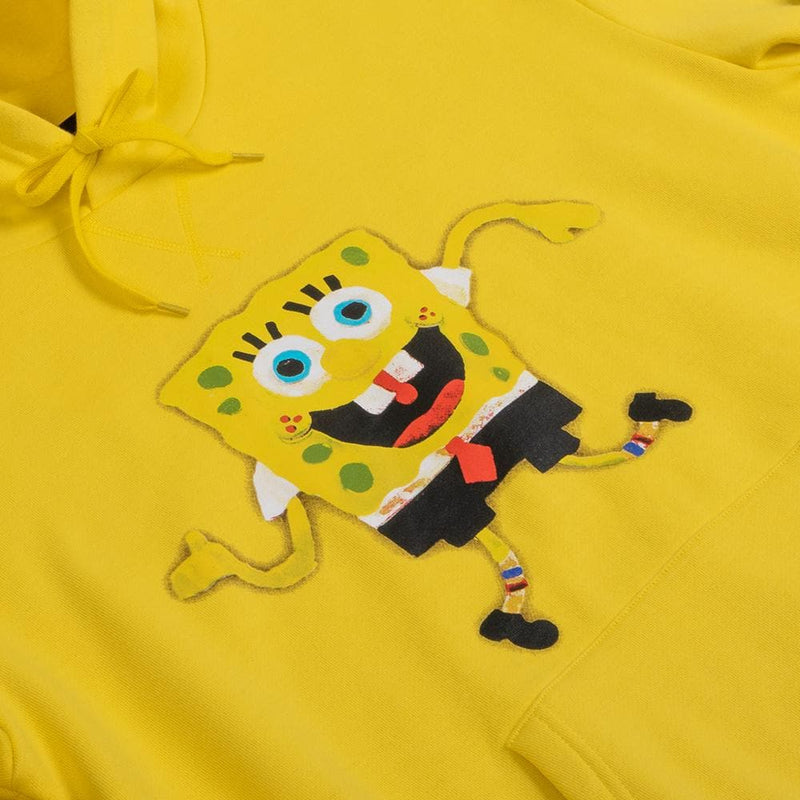 SpongeBob SquarePants Yellow Fleece Hoodie
