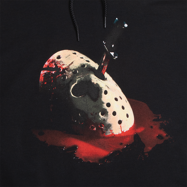 Friday the 13th Final Chapter Champion Black Hoodie