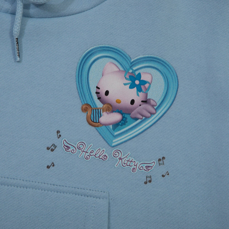Sanrio Hello Kitty Angel Cropped Hoodie