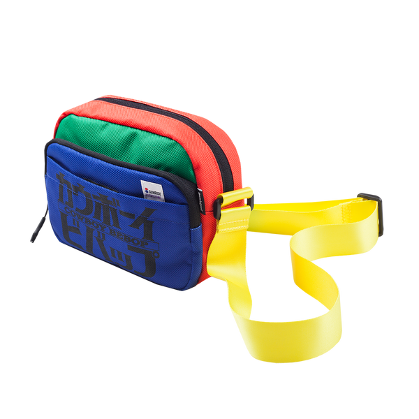 Cowboy Bebop Colorblock Crossbody Bag