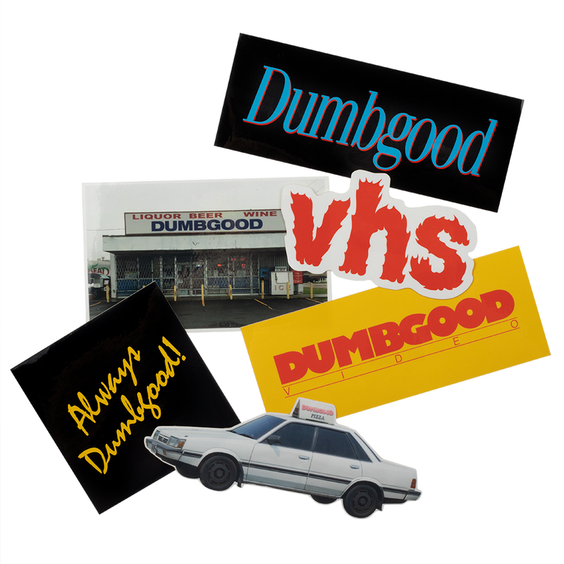 Always Dumbgood Sticker Set