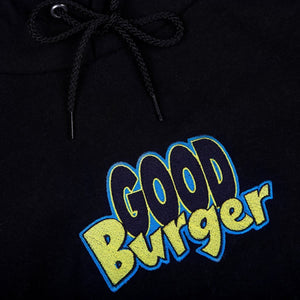 Good Burger Embroidered Champion Hoodie Black