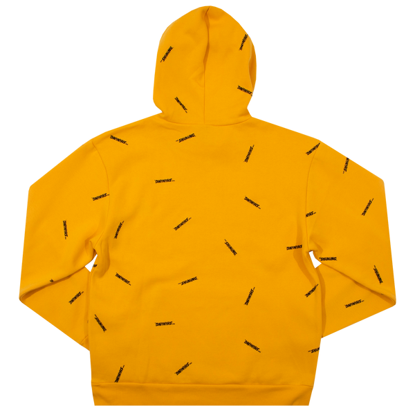 The Shining Repeat Logo Yellow Hoodie