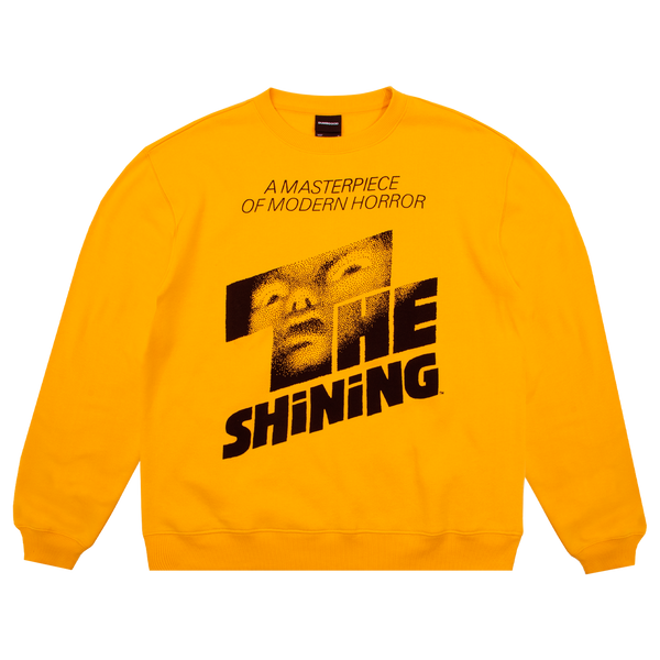 The Shining Logo Yellow Crew Neck Sweatshirt