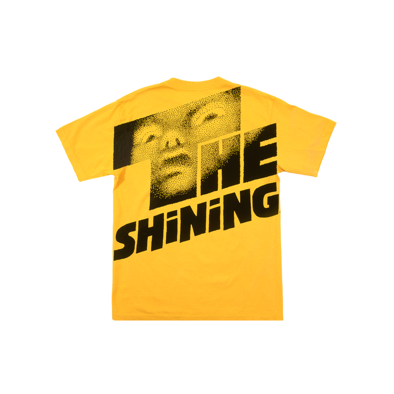 The Shining Logo Yellow Tee