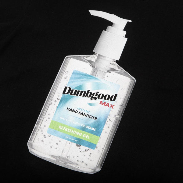 Dumbgood Wash Your Damn Hands Black Tee