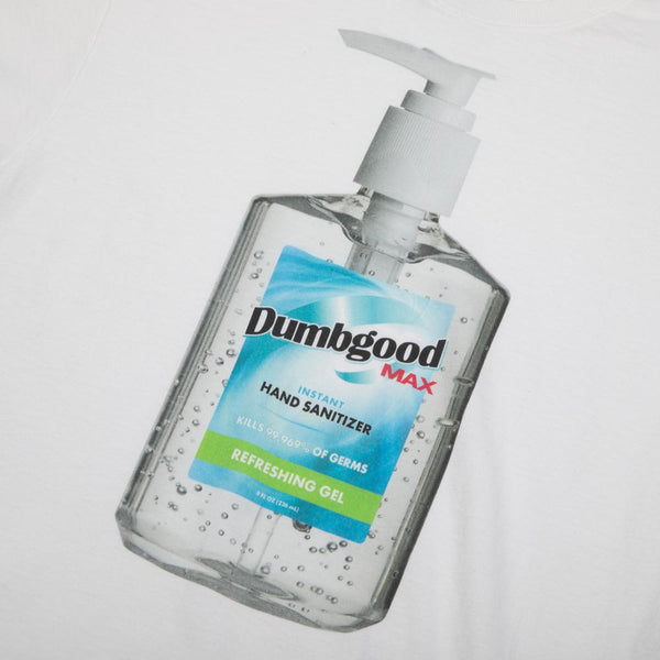 Dumbgood Wash Your Damn Hands White Tee