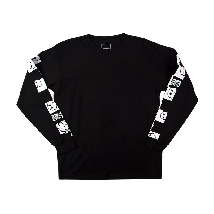 LS Cowboy Bebop Checker Emoticon Tee