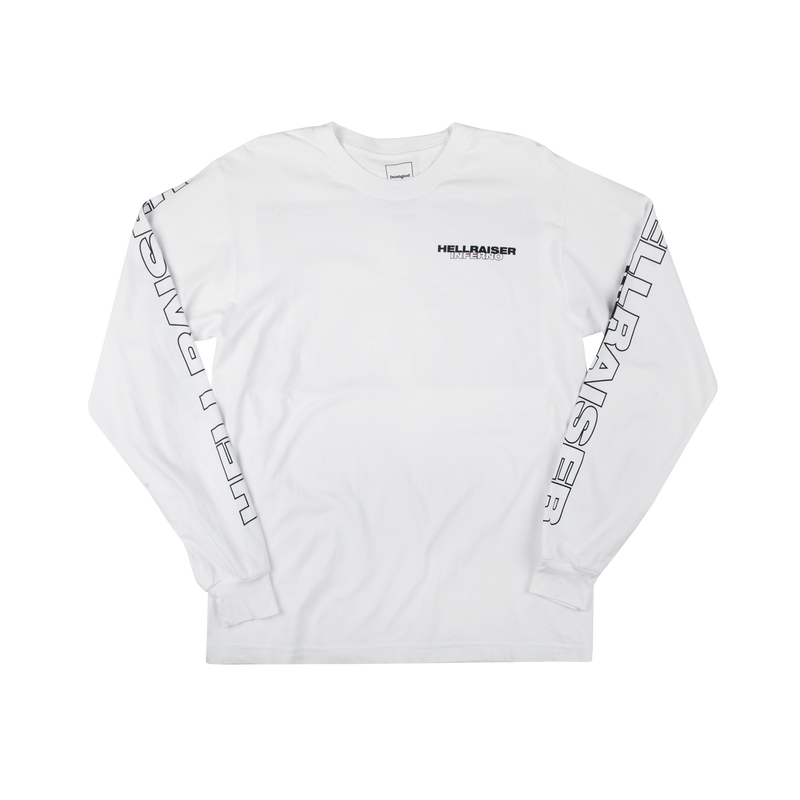 Hellraiser Inferno White Long Sleeve Tee