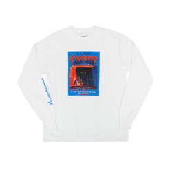 Goosebumps Beneath the Sink White Long Sleeve Tee
