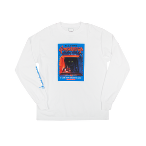 LS Goosebumps Beneath The Sink Tee White