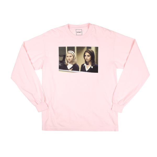 Cruel Intentions Pink Longsleeve Tee