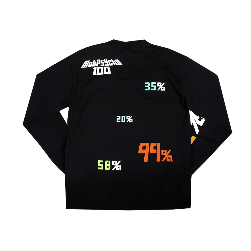 Mob Psycho All Percentages LS Tee