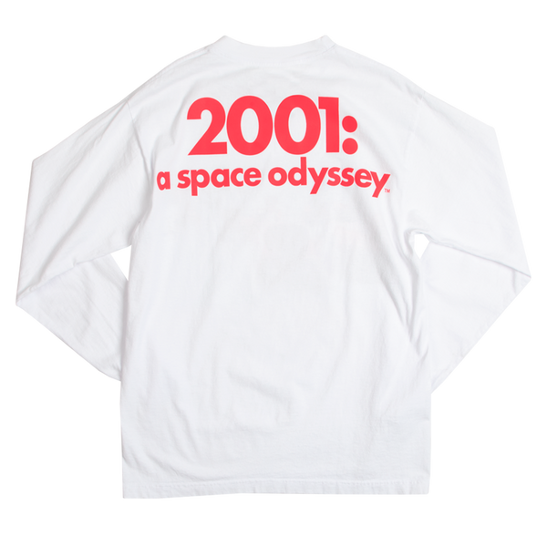 2001: A Space Odyssey Space Station Five White Long Sleeve