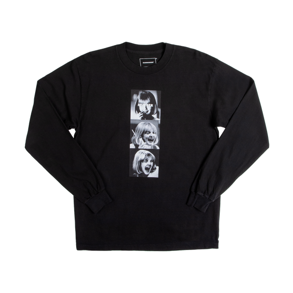 Scream Murder Black Long Sleeve Tee