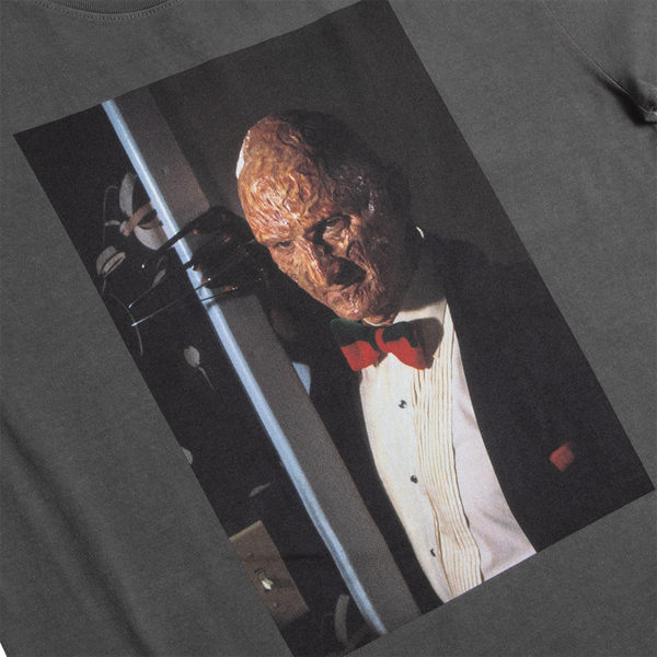A Nightmare on Elm Street Fancy Freddy Grey Long Sleeve Tee