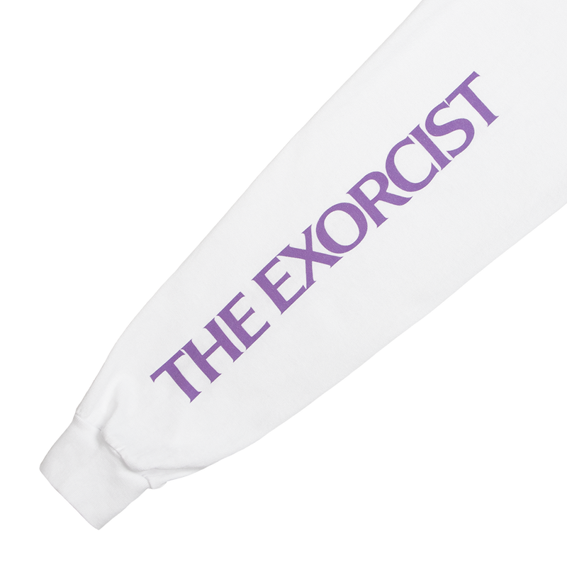 The Exorcist Exorcism White Long Sleeve Tee