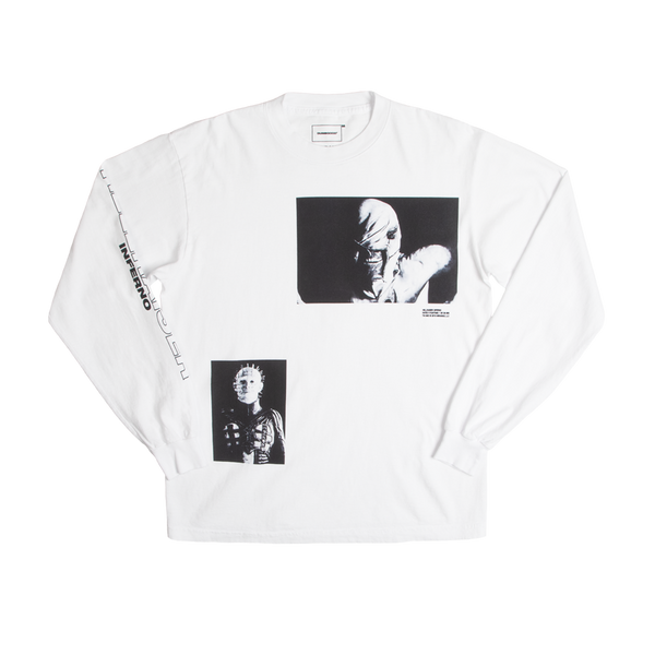 Hellraiser Cenobites White Long Sleeve Tee