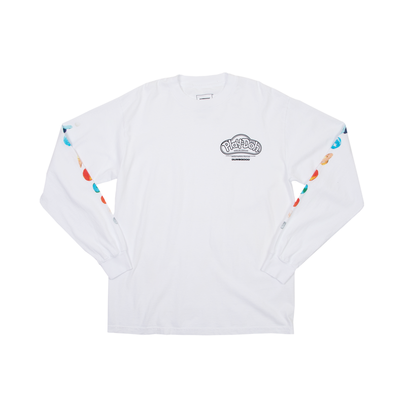 Play-Doh Planets White Long Sleeve