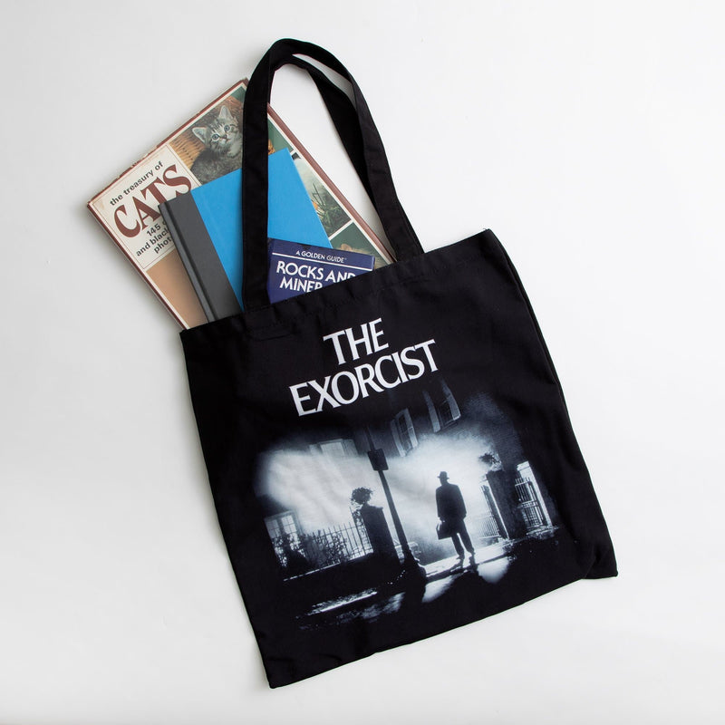 The Exorcist Black Canvas Tote Bag