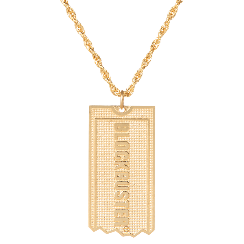 Blockbuster Chain Necklace