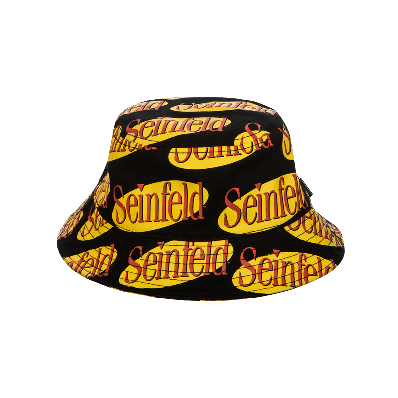 Seinfeld Allover Logo Bucket Hat