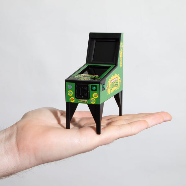 World's Smallest TMNT Electronic Pinball