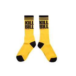 Kill Bill Logo Stripe Socks