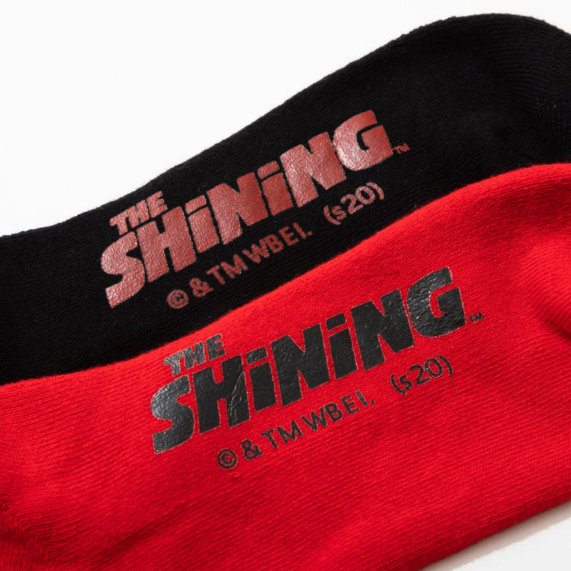 The Shining Redrum Repeat Logo Socks
