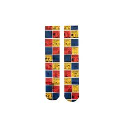 Peanuts Colorblock Comic Socks