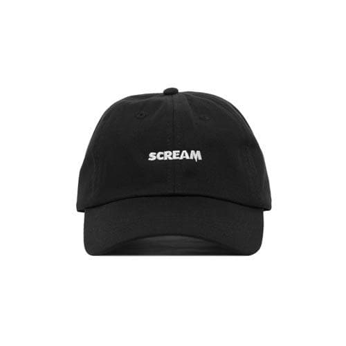 Scream Embroidered Strapback