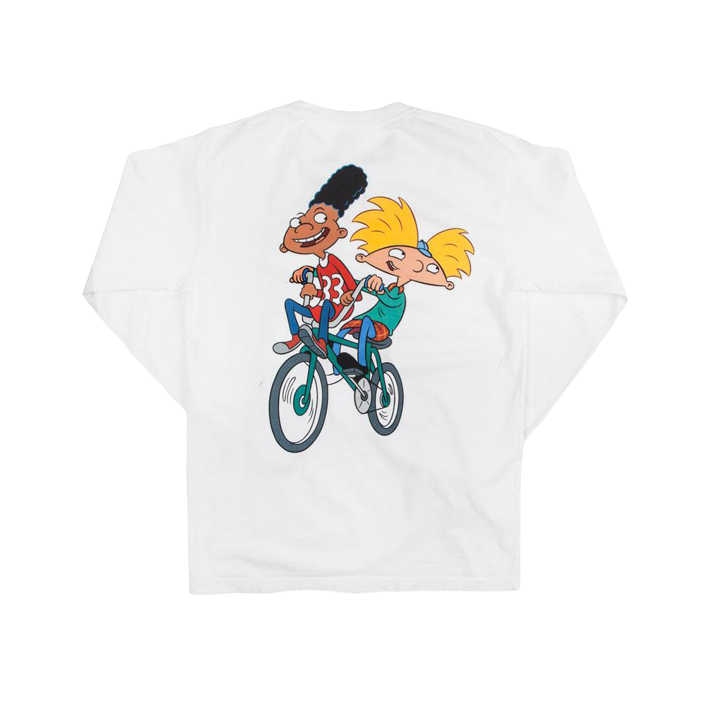 LS Hey Arnold Bike Tee